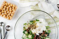 Terra's Kitchen Chickpea and Cucumber Salad | Striped Spatula