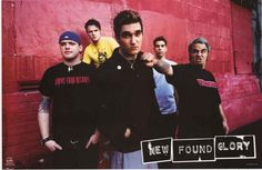 New Found Glory 2002 Band Poster 22x34