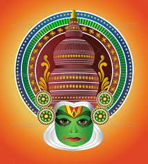 Buy South Indian Traditional Kathakali Dancer by AboliC on GraphicRiver. A traditional Kathkali dancer from India. Kathkali is a theater dance drama originated in South India with mythologic. Indian Traditional Paintings, Modern Indian Art, American Indian Art, Saree Painting, Kerala Mural Painting, Fabric Painting, Dress Painting, Islamic Paintings, Indian Art Paintings