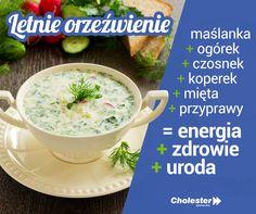 Chłodnik - przepis na letnie orzeźwienie  #jedzenie #zdrowie #diy #uroda #zupanazimno #chłodnik #przepis