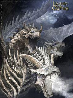 Blue eyes white Dragon Advanced