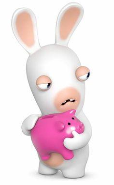 BWAAAH BWAAAH BWAH BWAH (TRANSLATION:NO STILLIN MY MONEY!!!) Cartoon Crazy, 3d Cartoon, Cartoon Characters, Rayman Raving Rabbids, Anime, Avatar, Games For Kids, Minions, Hello Kitty