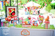 Gorgeous Muppet Show candy table #muppetshow #candytable