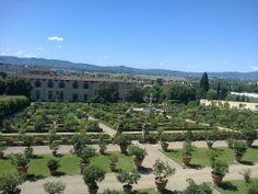Accademia della Crusca, garden