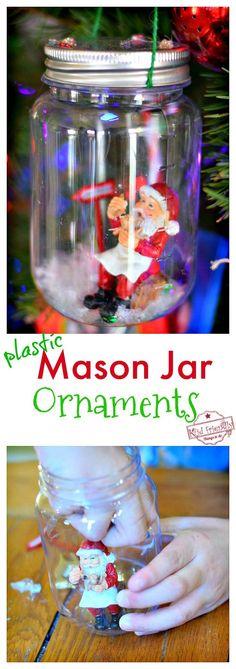 DIY Mason Jar Snow G