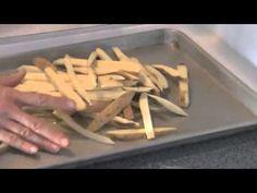 Sweet Potato Fries Tutorial