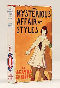 The Mysterious Affair at Styles, Agatha Christie ~ Early edition