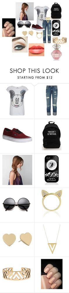 """""""Frenesi"""" by niallypotatoes ❤ liked on Polyvore featuring Paul & Joe Sister, Frame, Vans, American Eagle Outfitters, Samsung, Aamaya by Priyanka, Kate Spade, Gorjana, Lucky Brand and Chanel"""