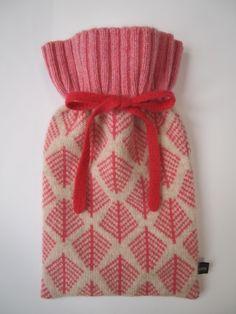 Cyclamen Pink Hot Water Bottle £35.00