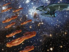 The lost Star Trek episode: 'Attack of the Space Bacon!'