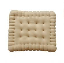 Fun chocolate cookie sofa cushion cartoon Butter biscuit pillow
