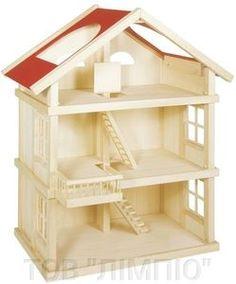 Goki Ляльковий будиночок 3 поверхи - фото