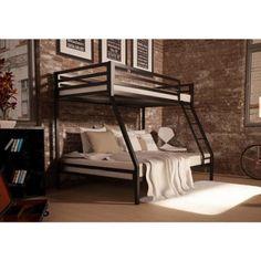 Kids Twin-over-Full Metal Bunk Bed – Vick's Great Deals