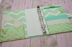 diy fabric covered binder | + ideas about 3 Ring Binders on Pinterest | 2 Pocket Folders, Binder ...