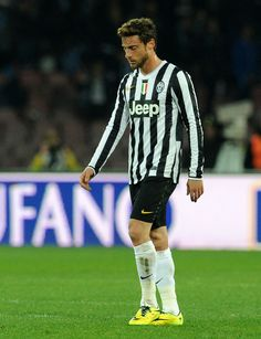 Claudio Marchisio of Juventus after the Serie A match between SSC Napoli and Juventus at Stadio San Paolo on March 30, 2014 in Naples, Italy...