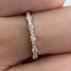 Wedding Band Sets, Diamond Wedding Bands, Wedding Rings, Diamond Bands, Gold Diamond Rings, White Gold Diamonds, Man Made Diamonds, Ring Verlobung, Anniversary Rings