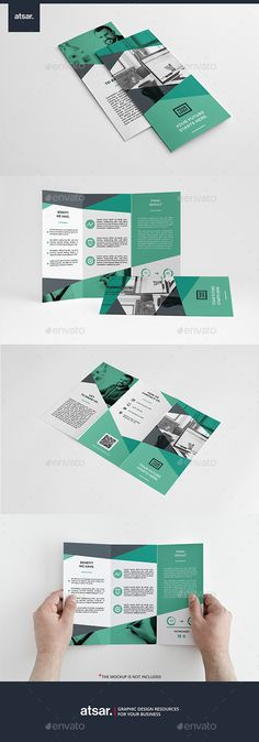 Creative Examples Of TriFold Brochure Designs  Brochures