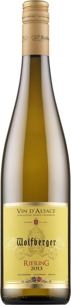 Wolfberger Riesling 2013 Really good white wine!!!