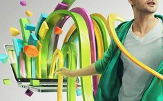 Nvidia - Bringing Fun To Your PC by Peter Jaworowski, via Behance