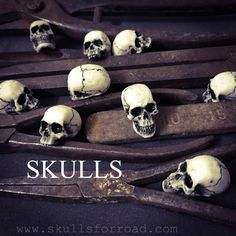 Skulls, Handmade, Design, Art, Hand Made, Craft, Kunst, Design Comics