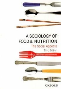 A Sociology of Food and Nutrition: The Social Appetite by John Germov. $40.79. Edition - 3rd. Author: John Germov. Publication: June 15, 2009. Publisher: Oxford University Press, USA; 3rd edition (June 15, 2009)