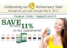 SALE ends soon, discounts on ALL my supplements: ThyroScript, bioavailable B complex, Magnesium, Ester C and more!