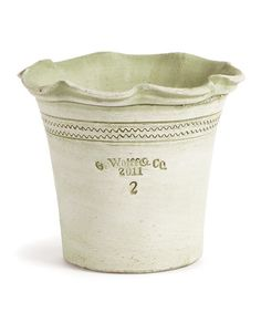 Love this Guy Wolff Green Scallop Pot by Guy Wolff on #zulily! #zulilyfinds