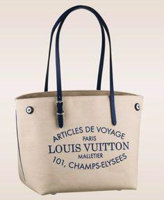 Louis Vuitton Articles de Voyage Canvas Bag and Shoe