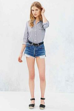 BDG Classic White Oxford Button-Down Shirt - Urban Outfitters