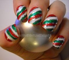 Impressive Red And Green Christmas Nail Designs - Best Christmas ...