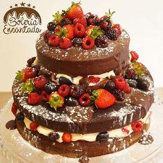 Naked Cake de Boleria Encantada.