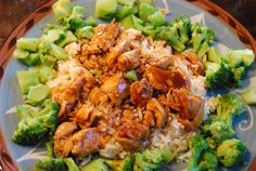 Healthy and quick version of General Tsao's chicken.