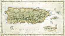 Puerto Rico Antiqued Map - 5x7 $3 http://www.caribbeantrading.com/shop/products/-Puerto-Rico-Antiqued-Map-%252d-5x7.html#