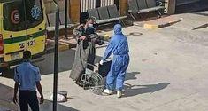 بالفيديو: مريض كورونا ملقى أمام مستشفى طهطا العام – نمساوى Ladder, Stairway, Ladders