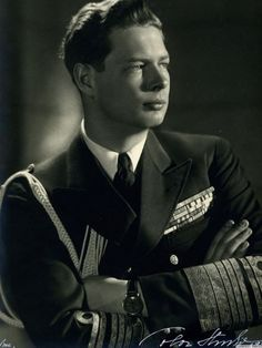 King Mihai I of Romania.