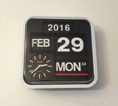 FARTECH® Flip Clocks - Google+: How to prepare you FARTECH flip clock for Leap Year Flip Clock, Showroom, Clocks, Google, Watches, Clock, Fashion Showroom, The Hours
