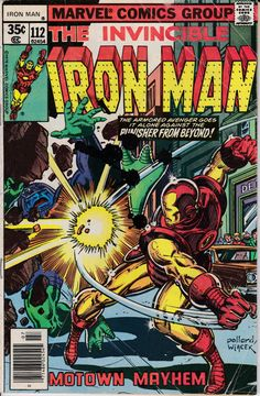Iron Man 1968 1st Series 112 July 1978 Issue  by ViewObscura
