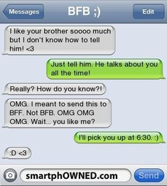 Page 5 - Autocorrect Fails and Funny Text Messages - SmartphOWNED cute - Funny Texts Funny Texts Jokes, Text Jokes, Cute Texts, Funny Text Fails, Epic Texts, Funny Relatable Memes, Funny Quotes, Drunk Texts, Sweet Texts