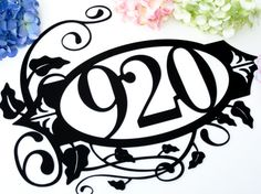 Hey, I found this really awesome Etsy listing at https://www.etsy.com/listing/107730897/outdoor-house-numbers-address-metal-sign