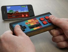 iCade 8-Bitty NES Inspired iPhone Gaming Controller