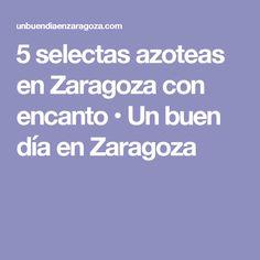 5 selectas azoteas en Zaragoza con encanto • Un buen día en Zaragoza Zaragoza