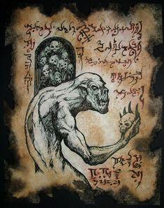Ghoul by MrZarono.deviantart.com on @deviantART