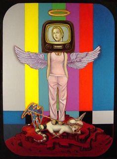 Patron Saint of the Television by Antonio Roybal
