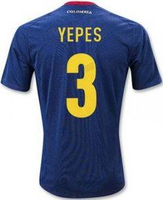 camisetas Yepes seleccion colombia 2014 segunda equipacion http://www.activa.org/5_2b_camisetasbaratas.html http://www.camisetascopadomundo2014.com/