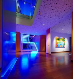 Decor and Design: Iluminacion indirecta led salon y salas de estar