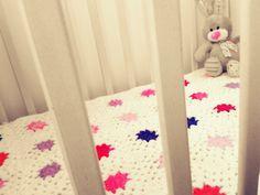 Μy first granny square Blanket!!!