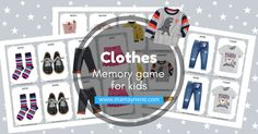 CLOTHES MEMORY GAME FOR KIDS-mamaynene blog