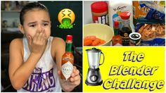 The Blender Challenge. Even our dog disliked it. Lol