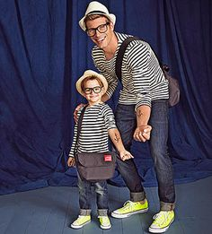 Too Punny Halloween Costumes: Like Father, Like Son (via Parents.com)