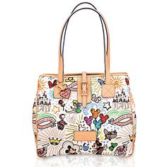 I have this one too, in a different style.  I love the Dooney and Bourke Disney bags. :)